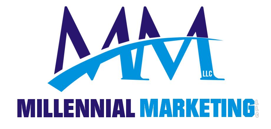 millennial marketing logo